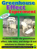 Modeling The Greenhouse Effect Experiment: NGSS Aligned