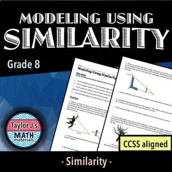 Modeling Using Similarity Worksheet