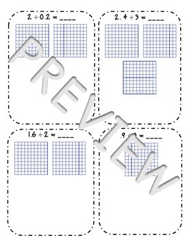 Modeling Whole Number and Decimal Division Interactive Notes