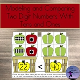 Modeling and Comparing Double Digit Numbers With Tens and Ones