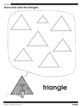 Modeling and Drawing Shapes (CCSS K.G.B.5)