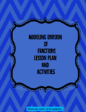 Modeling division of fractions. Lesson plan and Activities