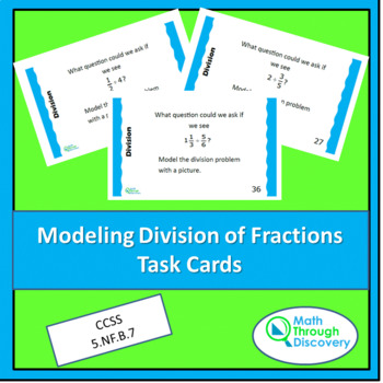 Modeling the Division of Fractions Task Cards