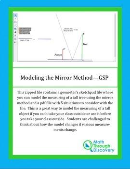 Geometry:  Modeling the Mirror Method - GSP