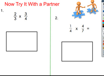 Modeling the Multiplication of Fractions