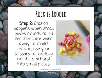 Modeling the Rock Cycle with Starburst Science Experiment
