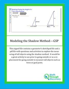 Geometry:  Modeling the Shadow Method - GSP