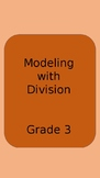 Modeling with Division Task Cards- Arrays, Columns, Rows