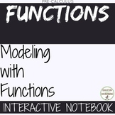 Modeling with Functions Foldables and Notes for PreCalculus Curriculum