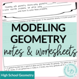 Modeling with Geometry Notes and Worksheets