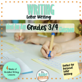 Modelled Writing | Personal Letter | Grades 3/4 | Ontario