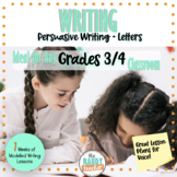 Modelled Writing | Persuasive Letter | Gr 3 & 4 | Ontario