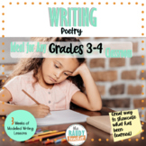 Modelled Writing | Poetry | Gr 3 & 4 | Ontario Curriculum