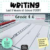 Modelled Writing Unit: Last 3 Weeks of School