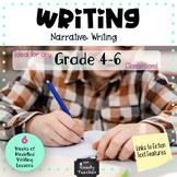 Modelled Writing Unit: Narrative Writing