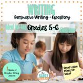 Modelled Writing Unit | Persuasive Writing | Gr 5 & 6 | On