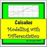 High School Calculus: Modelling with Differentiation