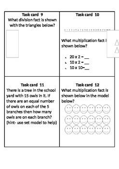 Models Task Cards