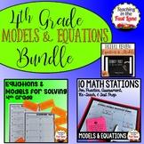 Models and Equations Bundle 4th Grade