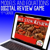 Models and Equations Review Game - Hot Stew Review