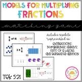 Models for Multiplying Fractions TEK 5.3I