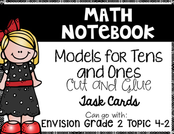 Models for Tens and Ones {Goes with Envision 2nd Grade Topic 4-2}