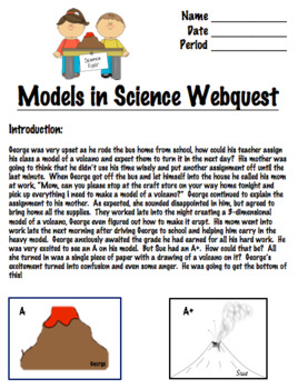 Models in Science Webquest