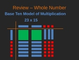 5NBT7 Models of Decimal Multiplication and Division