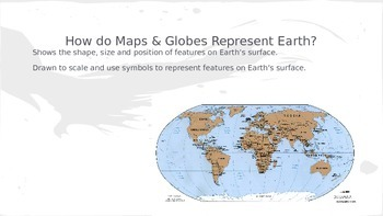 Models of Earth Powerpoint