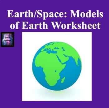 Models of Earth Worksheet