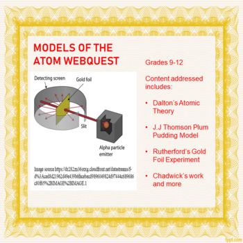 Models of the Atom Webquest