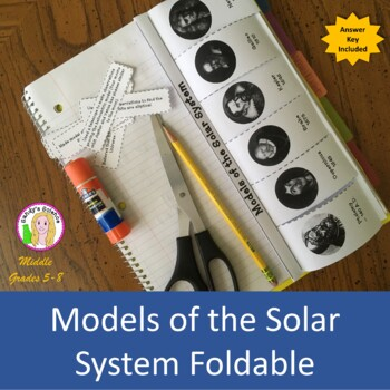 Models of the Solar System Foldable