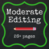 Moderate Editing - 26+ pages FREE QUOTE
