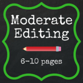 Moderate Editing - 6-10 pages