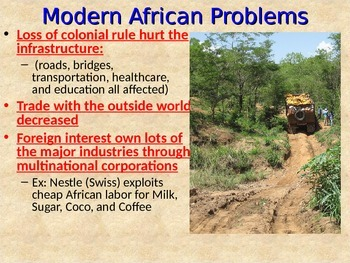 Modern Africa Issues Notes