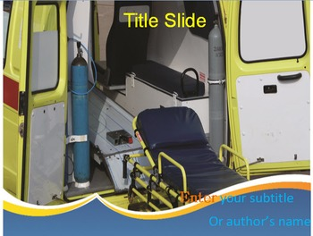 Modern Ambulance PowerPoint Template