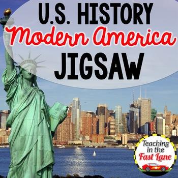 Modern America: Disasters of the 21st Century Jigsaw {U.S. History}