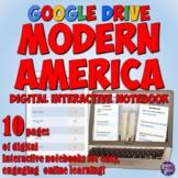 Modern America Google Drive Interactive Notebook