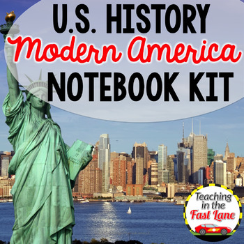 Modern America Notebook Kit {U.S. History}