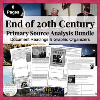 Modern America Primary Source Analysis Bundled Set