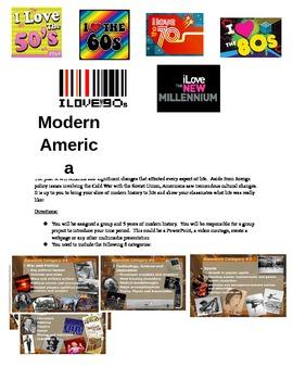 Modern America Project