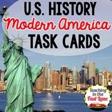 Modern America Task Cards {U.S. History}