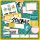Modern Animal and Color Classroom Theme Set - Editable
