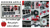 Classroom Decor Modern Apple - Full Collection Bundle