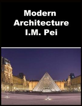 Architecture- I.M.Pei Modern Architecture Master PowerPoint