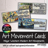 Modern Art Movement Cards (Art Posters)