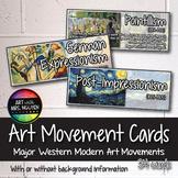 Modern Art Movement Cards (Art Posters)
