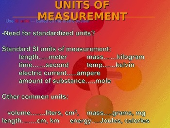 Modern Chemistry Chapter 2:  Measurement and Calculations