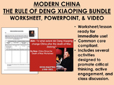 Modern China - The Rule of Deng Xiaoping Bundle - Global/World Common Core