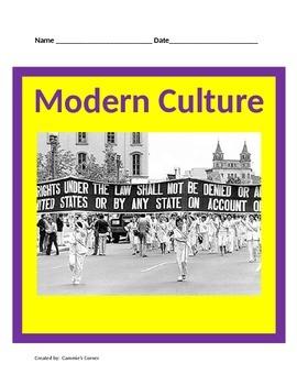 Modern Culture: 20th Centurty Civil Rights Movement BUNDLE